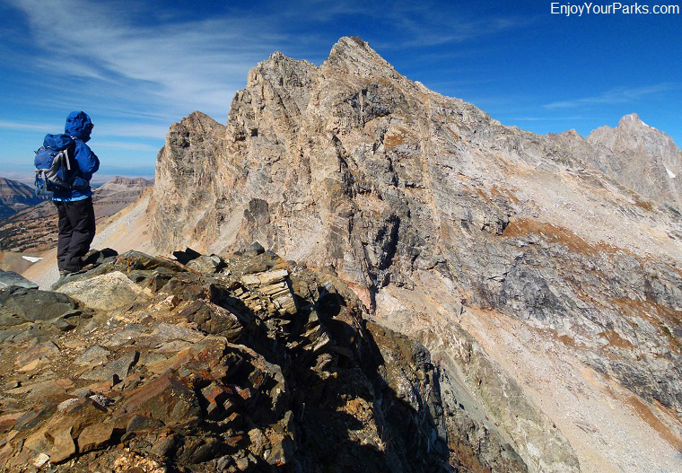 Static Peak Summit, Grand Teton National Park