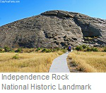 Independence Rock National Historic Landmark