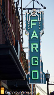 Historic Fargo Theater, Downtown Fargo North Dakota