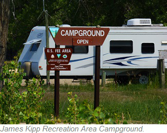 James Kipp Recreation Area Campground