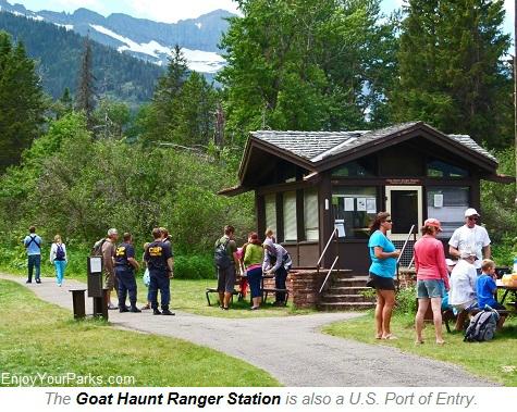 Goat Haunt Ranger Station, Glacier National Park
