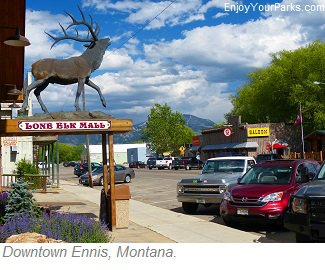 Ennis, Montana, Madison River Valley