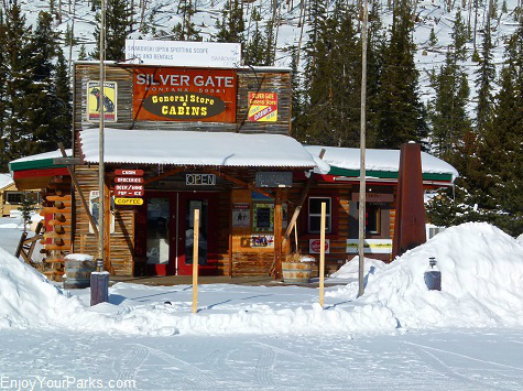 Silver Gate General Store and Cabins, Silver Gate Montana, Yellowstone National Park