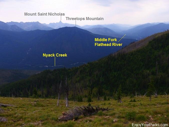 Loneman Lookout Trail, Glacier National Park