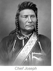 Chief Joseph, Big Hole National Battlefield Montana