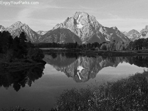 Mount Moran, Oxbow Bend, Grand Teton National Park