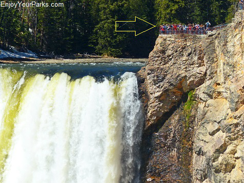 Brink of Lower Falls, Grand Canyon of the Yellowstone, Yellowstone National Park
