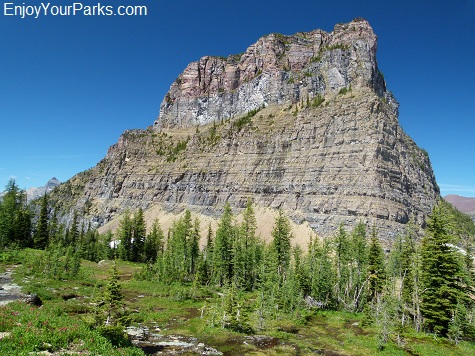Gardner Point, Boulder Pass Trail, Glacier National Park