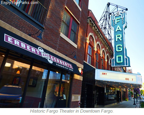 Historic Fargo Theater in Downtown Fargo North Dakota