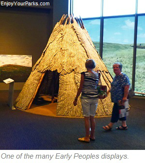 Early Peoples display, North Dakota Heritage Center, Bismark