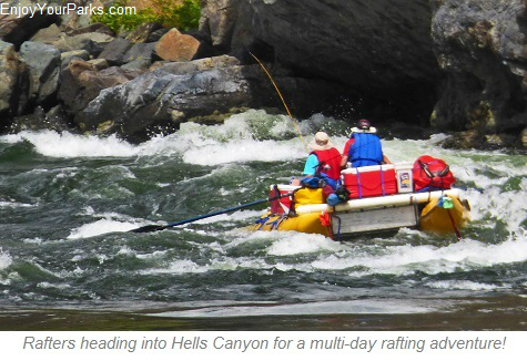 Rafters, Hells Canyon National Recreation Area