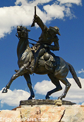 Buffalo Bill Cody Statue, Buffalo Bill Center of the West, Cody Wyoming