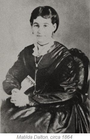 Matilda Dalton, Montana Pioneer, Virginia City Montana