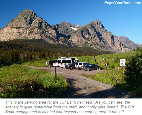 Cut Bank Area, Glacier National Park