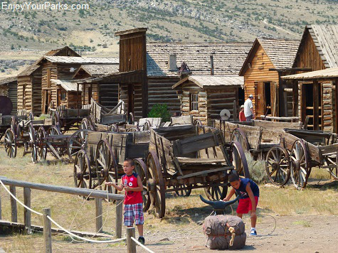 Old Trail Ghost Town, Cody Wyoming, Yellowstone National Park