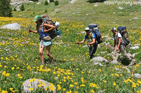 Backpackers, Wind River Range, Wyoming