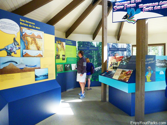 Cameron Lake Interpretive Center, Waterton Lakes National Park