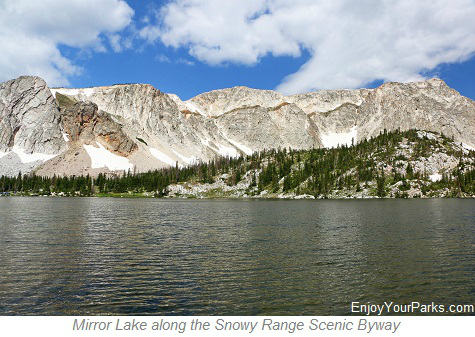 Mirror Lake, Snowy Range Scenic Byway, Wyoming