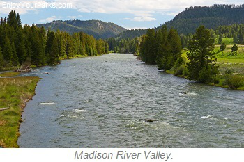 Madison River Valley, Montana