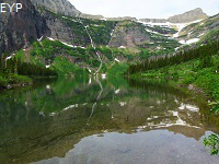 Medicine Grizzly Lake, Glacier National Park
