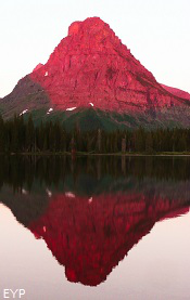 Sinopah Mountain, Two Medicine Area, Glacier National Park