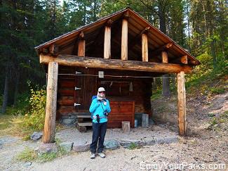 Quartz Lake Patrol Cabin, Glacier National Park