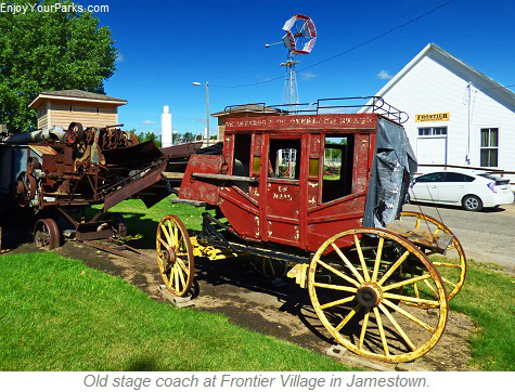 Stagecoach, Frontier Village, Jamestown, North Dakota