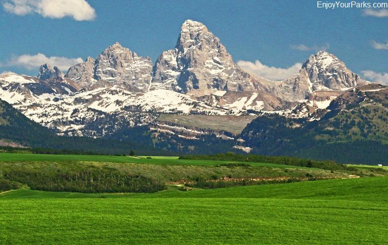 Grand Teton Range, Teton Scenic Byway, Idaho
