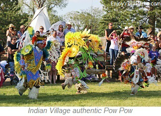 Indian Village authentic Pow Wow, Cheyenne Frontier Days, Wyoming