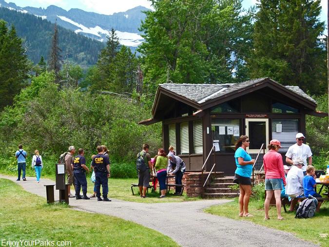 Goat Haunt Ranger Station, Glacier Park