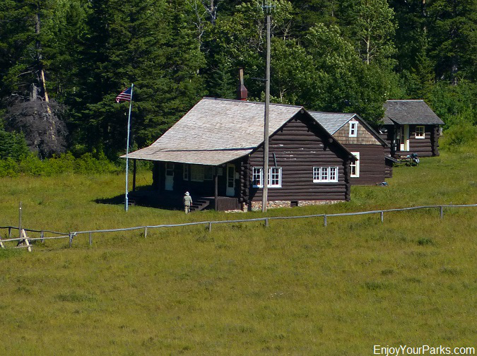 Belly River Ranger Station, Glacier National Park