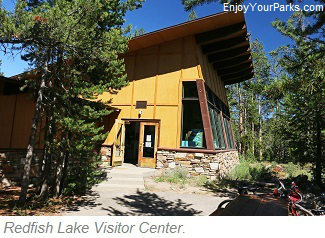 Redfish Lake Visitor Center, Sawtooth National Recreation Area, Idaho