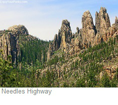 Needles Highway,South Dakota