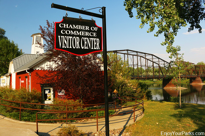 Fort Benton Chamber of Commerce Visitor Center, Fort Benton Montana