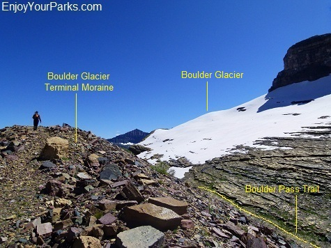 Boulder Pass Overlook, Boulder Pass Trail, Glacier National Park