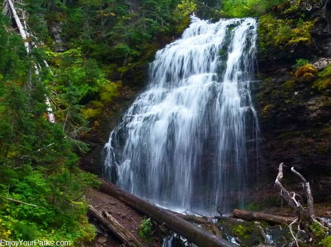 Forum Falls, Akamina Ridge Trail, Akamina-Kishinena Provincial Park, British Columbia.