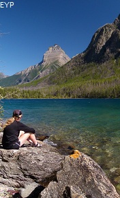 Kintla Lake Campground, Boulder Pass Trail, Glacier National Park