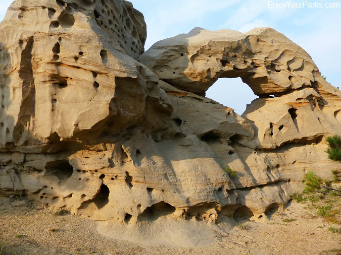Medicine Rocks State Park Montana