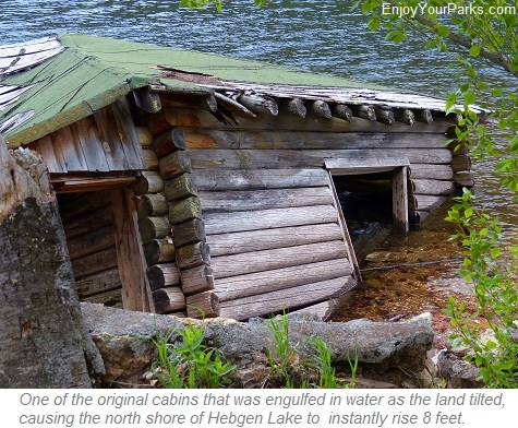 Cabin in Hebgen Lake