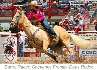 Barrel Racer, Cheyenne Frontier Days Rodeo