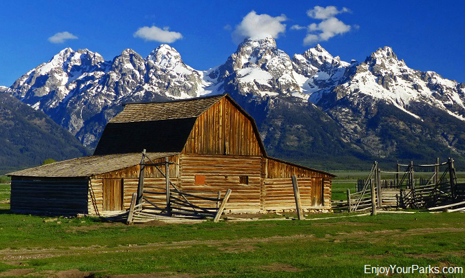 Historic John Moulton Barn, Grand Teton National Park