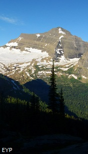 Kintla Peak, Boulder Pass Trail, Glacier National Park