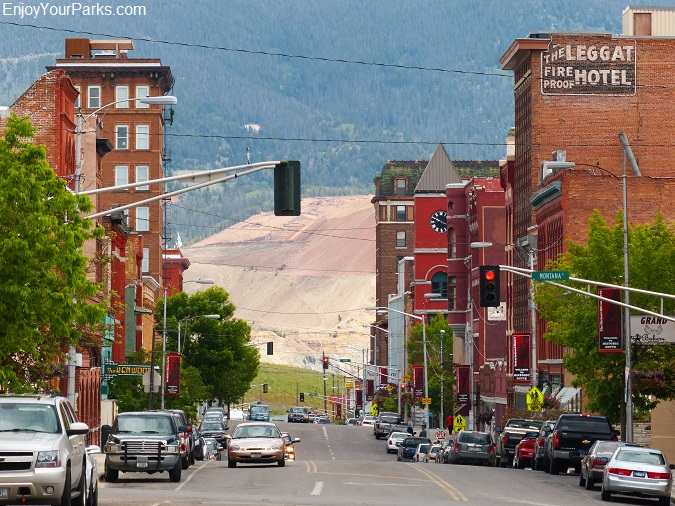 Butte National Historic District, Butte Montana