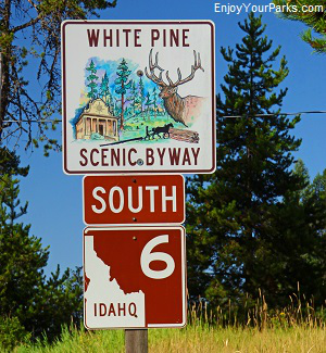 White Pines Scenic Byway, Idaho