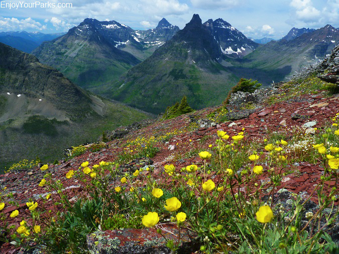 Two Medicine Pass, Park Creek Trail, Glacier National Park