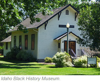 Idaho Black History Museum, Julia Davis Park, Boise Idaho