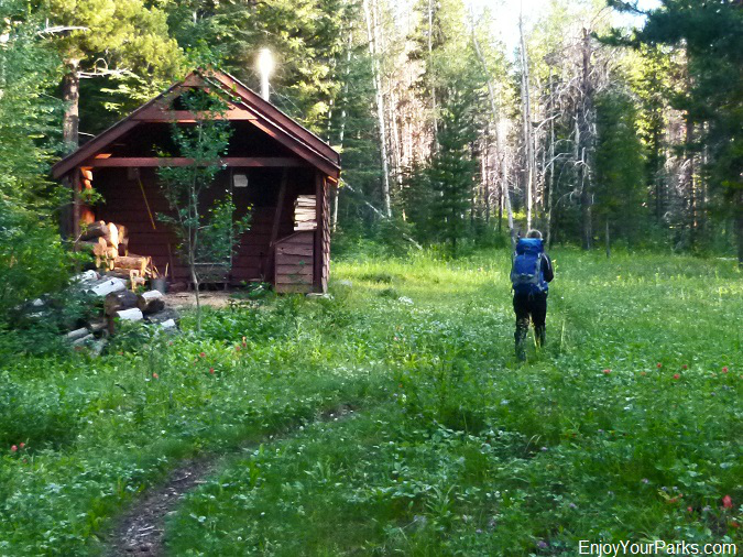 Fielding Patrol Cabin, Elk Mountain Trail, Glacier National Park