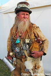Mountain Man Rendezvous, Fort Bridger Wyoming