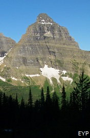 Kinnerly Peak, Boulder Pass Trail, Glacier National Park