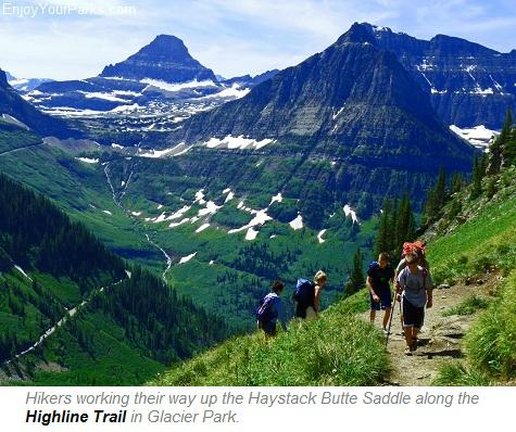 Highline Trail, Glacier Park